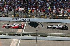IndyCar - Indy 500: Montoya gewinnt Thriller gegen Power