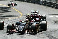Formel 1 - Maldonado: Öl-Millionen kein Freifahrtschein