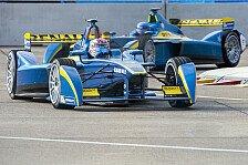 Formel E - Renault frohlockt nach starkem Test in Donington