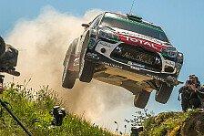 WRC - Sardinien: Citroen will wieder um den Sieg kämpfen