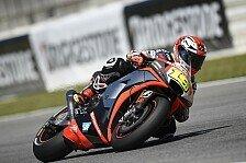 MotoGP - Aprilias Aufbruchstimmung verpufft