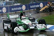 IndyCar - Detroit: Munoz feiert Debütsieg in Abbruch-Rennen
