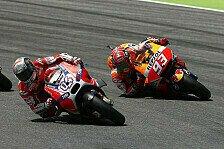MotoGP - Marquez regiert FP3 in Indy, Dovizioso muss in Q1