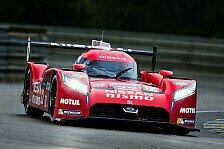 24 h von Le Mans - Nissan akklamiert gute Nass-Pace
