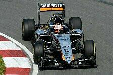 Formel 1 - Force India tüftelt an der Flügelstellung