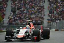 Formel 1 - Merhi strahlt über Leistungssteigerung