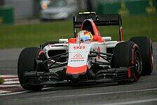 Formel 1 - Große Fortschritte bei Manor