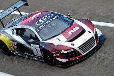 Blancpain GT Serien - Harte Konkurrenz für viele Audi R8 LMS in Spa