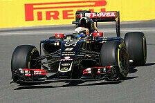 Formel 1 - Grosjean träumt vom Podium