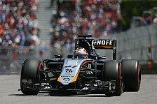 Formel 1 - Force India Vorschau: Österreich GP