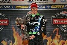 IndyCar - Dixon gewinnt überlegen in Texas
