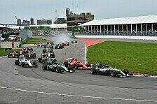 Formel 1 - Kanada GP: Hamilton siegt vor Rosberg
