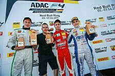ADAC Formel 4 - Joey Mawson gewinnt Rennen 3 auf dem Red Bull Ring