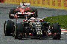 Formel 1 - Lotus feiert bestes Saisonergebnis