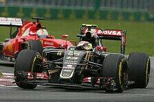 Formel 1 - Maldonado: Lotus könnte es mit Ferrari aufnehmen