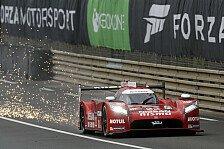 24 h von Le Mans - Nissan LMP1-Boliden in Le Mans zurückversetzt