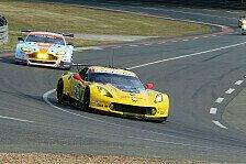 24 h von Le Mans - Totalschaden: Corvette zurückgezogen
