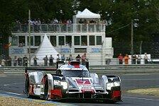 24 h von Le Mans - Alle Audi in Le Mans in Startreihen zwei und drei