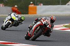 MotoGP - Aprila rutscht und schlingert durch Barcelona