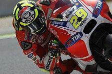 MotoGP - Iannone: Sorgenfalten und große Erleichterung