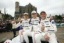 24 h von Le Mans - Sieg aus Stegreif: Hülkenberg sprachlos
