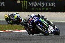 MotoGP - Analyse Barcelona: Rossi schneller als Lorenzo!