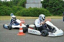 DTM - Auer und Götz fahren mit behinderten Kindern Kart