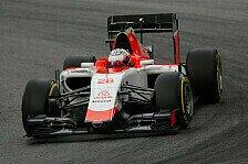 Formel 1 - Manor feiert verkürzten Abstand