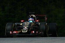 Formel 1 - Lotus mit guter Basis für das Wochenende
