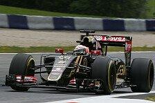 Formel 1 - Lotus kann Leistung vom Freitag nicht halten