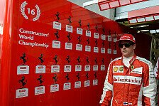 Formel 1 - Räikkönen: Liebesbekenntnis an die Formel 1