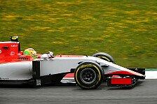 Formel 1 - Platz 14 für Merhi: Manor feiert bestes Ergebnis
