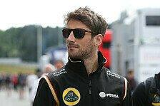 Formel 1 - Grosjean wünscht sich Renault-Übernahme