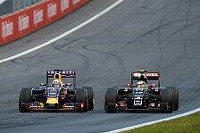Formel 1 - Marko: Renault muss 2016 auf RBR setzen!