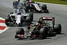 Formel 1 - Maldonado: Es war alles unter Kontrolle