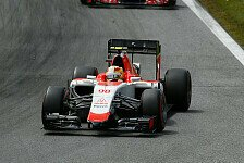 Formel 1 - Manor bringt in Silverstone Updates