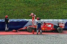 Formel 1 - Bilder: Spielberg - Fuoco-Unfall
