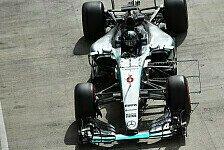 Formel 1 - Spielberg-Test: Mercedes erneut am Schnellsten