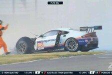 24 h von Le Mans - Nach Crash: Goethe von Hülkenberg enttäuscht