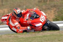 MotoGP - Rennen MotoGP: Capirossi schlug sie alle
