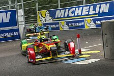 Formel E - Di Grassi hält Titelkampf bis zum Finale offen