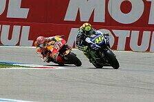 MotoGP - Bilder: Niederlande GP - Schikanen-Showdown: Marquez vs. Rossi
