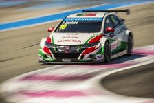 WTCC - Honda mit Test in Aragon