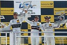 DTM - Robert Wickens feiert dritten Norisring-Sieg
