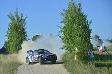 WRC - Ogier Schnellster im Polen-Shakedown