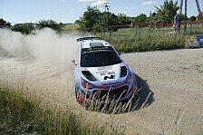WRC - Paddon: Ab Deutschland mit gleichem Material
