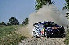 WRC - Ogier gewinnt Auftaktprüfung in Polen