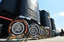 Formel 1 - Pirelli und FIA arbeiten an klareren Reifenregeln