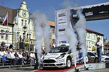 WRC - Evans hofft in Finnland auf die Wende