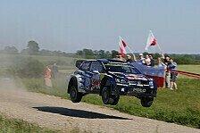 WRC - Ogier gewinnt Power Stage und Rallye Polen